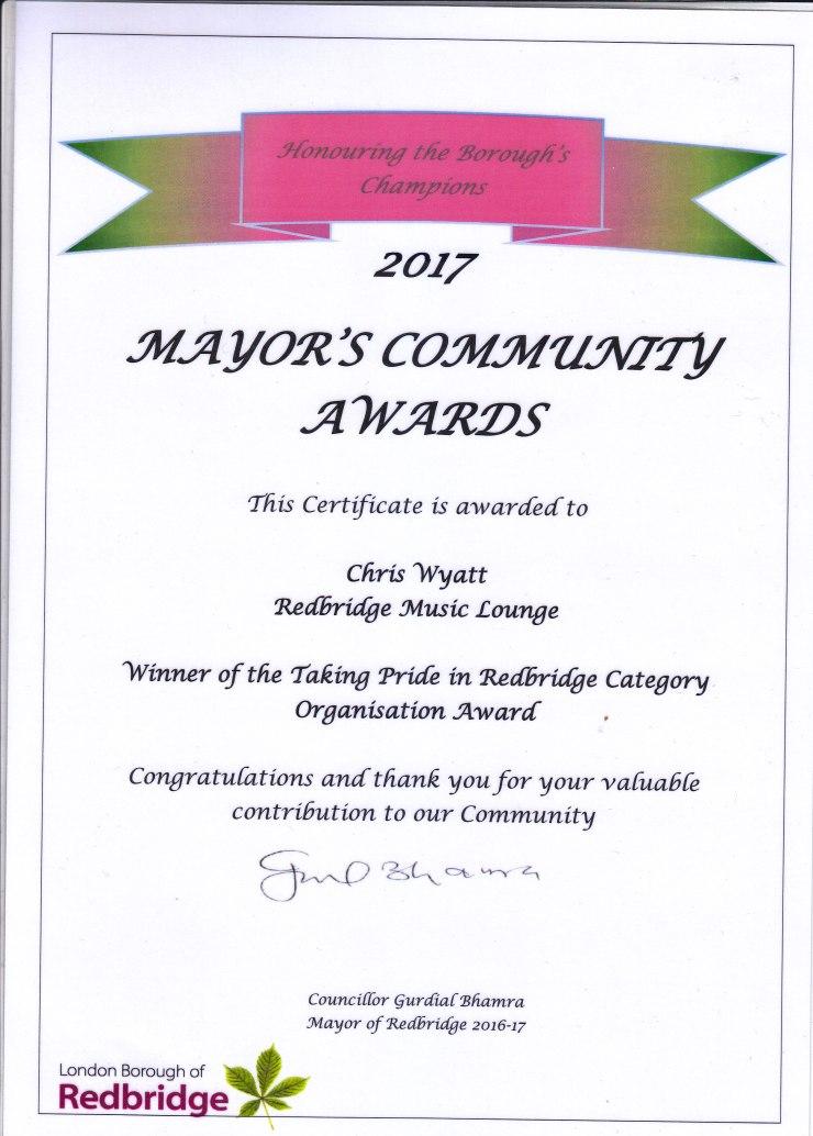 community award